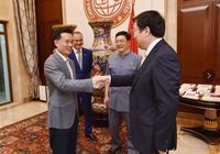 中國華信和國家發改委國際中心在滬舉行戰略合作協議簽約儀式