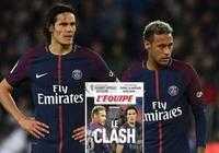 內馬爾笑了!巴黎0-0爆冷或逼卡瓦尼埃梅里雙雙走人?