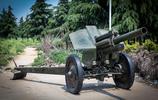 這些重型火炮、坦克,曾是我軍主要武器裝備,如今男女爭與其合影
