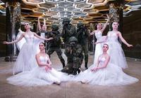 鐵漢的柔情 俄羅斯士兵與芭蕾舞演員歡慶女神節
