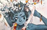 插畫師 Mina chaquet 水彩下的精靈系列 水彩插畫作品欣賞