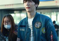 張丹峰兒子張鎬濂現身機場人氣很旺,網友:但這顏值好像不太行啊