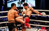 世界極限格鬥大賽,瓦西里以膝法、高掃發起強攻並獲勝!