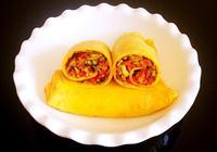 蔬菜雞蛋卷餅~