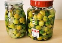 梅子酒的做法:天然發酵梅子酒