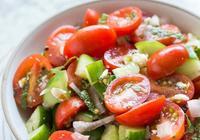 番茄黃瓜冰沙沙拉