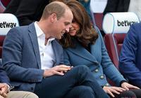 凱特王妃三度懷孕臉盤圓潤 與威廉王子熱聊心情好