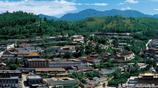 塔爾寺是中國的喇嘛教聖地,也是一座漢藏藝術風格結合的建築群