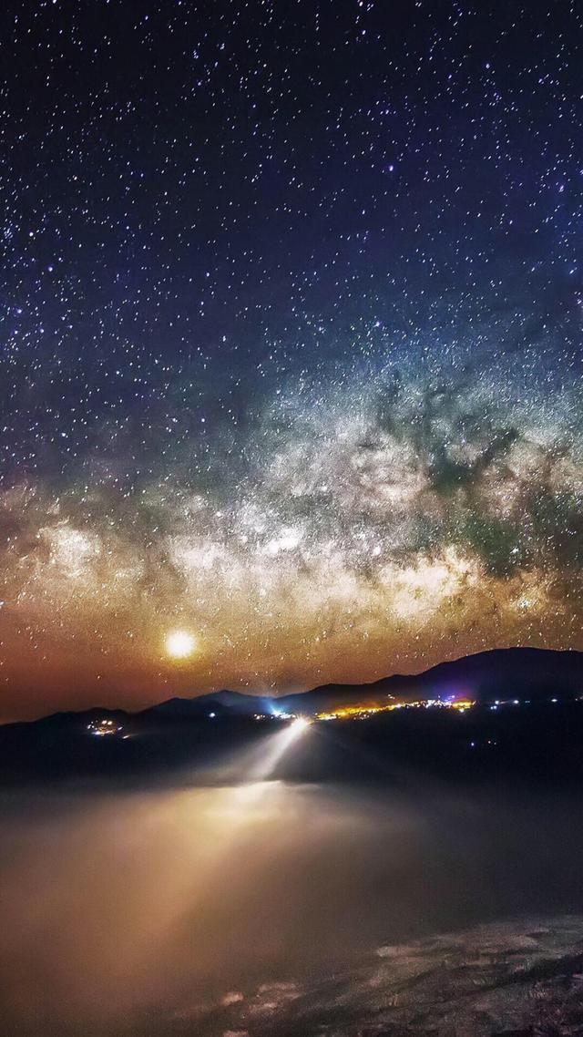 壁紙:星空