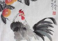 雞年畫雞——張軍地寫意雞作品欣賞