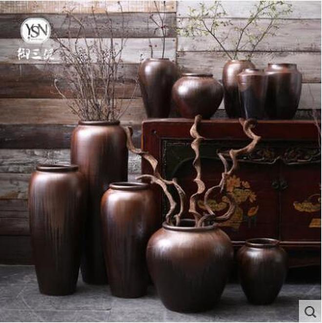 禪意陶瓷,復古懷舊,小花瓶陶瓷花器