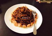 肉醬蘭州炒麵