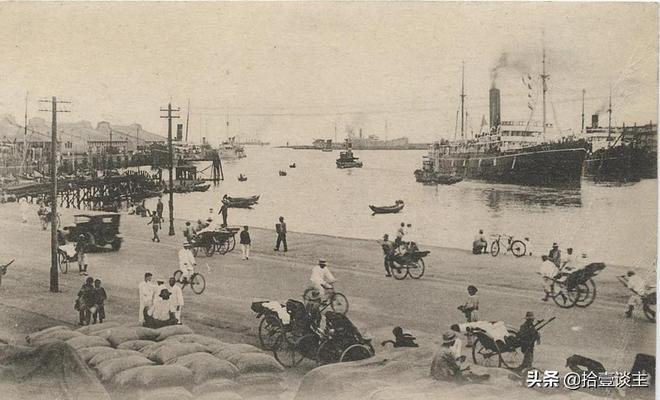 青島,百年前在列強間兜兜轉轉,老照片回味那一段歷史