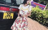 夏季時尚吊帶裙兩件套,方便省心造型感十足,青春洋氣修身又減齡