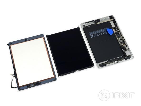 9.7英寸新iPad拆解:與 iPad Air 幾乎相同