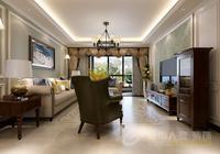 西安——保利拉菲140平美式現代風格,感受自由,舒適的生活方式