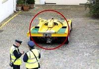 千萬老爺車違停,交警開出最貴罰單,車主無奈車是推來的!