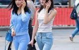 """到上海旅遊才發現,滿街女人都穿這""""休閒套裝"""",個個美得像明星"""