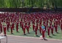 呼和浩特錫林南路小學廣播操比賽快樂進行時