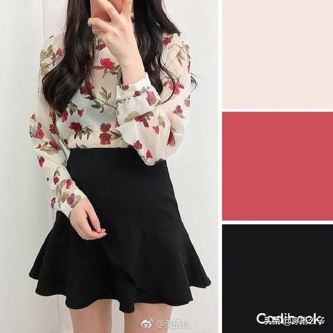 雪紡襯衫色彩搭配方案、凸顯女性柔美氣質 