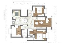 112㎡現代簡約風格家居裝修實景——一種私享的氛圍