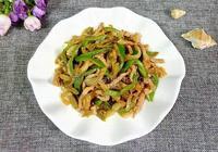 肉絲青椒炒榨菜