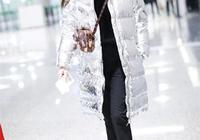 又被唐嫣的私服驚豔到了!穿3萬2銀色羽絨服拎2萬lv,摩登又閃耀