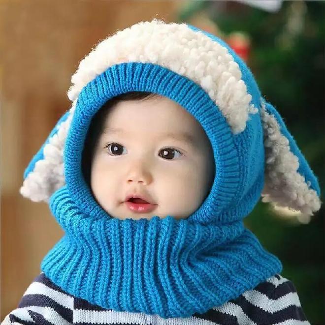 """當下火了一種""""萌娃帽"""",可愛暖心,戴出門人人都誇,簡直萌翻了"""