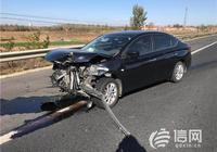 汽車前臉被撞得面目全非 安全氣囊卻未彈出