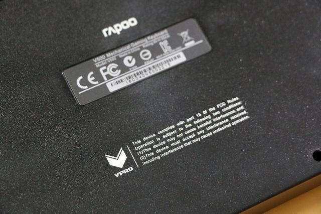 便宜的機械鍵盤,雷柏,黑色青軸