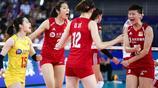 中國女排3比0波蘭江門站開門紅 朱婷霸氣慶祝 郎平悉心指導李盈瑩