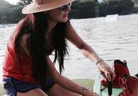 張柏芝玩水上運動好有型,但網友卻心疼她的手
