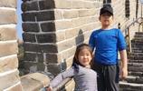 郭濤的兒子近兩年變化真的好大!身材瘦了長高了,最後一張郭濤的
