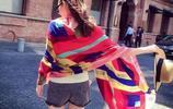 一條圍巾教會你,這個秋天如何變的更加優雅氣質,女神範十足