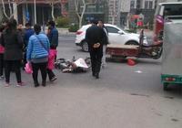 情報站|濟南張莊路三輪車與電動車相撞,傷者被送醫