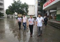 瀘州市教育局局長黃輝巡視合江中考工作