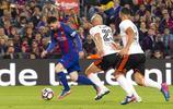 足球——西甲聯賽:巴薩勝巴倫西亞