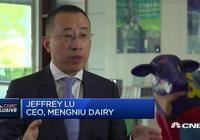 蒙牛總裁接受CNBC專訪,談蒙牛和雅士利、現代牧業甚至輝山