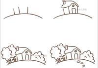 柏柏簡筆畫:9種風景的畫法