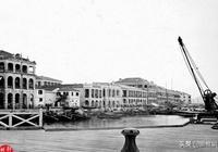 老照片,清末的江西九江是這樣的,那時的九江還蠻現代化的