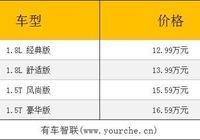 東風本田新款傑德上市 售價12.99萬-16.59萬元