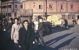 鏡頭下1948年中國,上海蘇州河一片繁忙,昆明金馬坊熱鬧非凡
