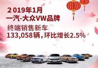 一汽-大眾1月銷量超13萬輛迎開門紅,捷達、寶來、速騰均實現熱銷