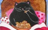 一隻胖貓的日常,除了吃還是吃