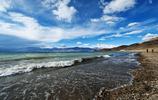 西藏·日土——班公湖,湖生中國則為淡,湖生印度則成鹹
