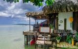 旅遊小記 遊法國波拉波拉島 露臺上坐著喝咖啡日子不要再舒服了
