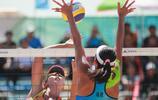 王凡/嶽園組合奪得第十三屆全運會沙灘排球女子比賽冠軍