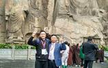 龍門石窟石像