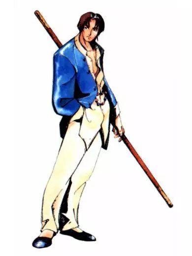 經典街機遊戲中那些使用棍子為武器的人物,我還沒用力你就倒下了