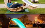 激發靈感的街頭一景!創意長椅設計師猛開腦洞點綴生活